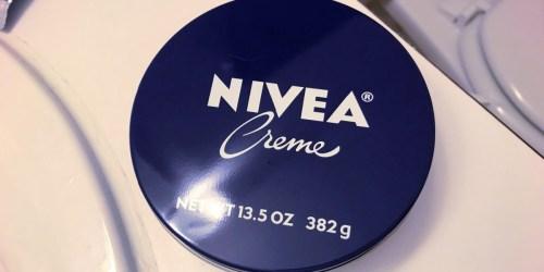NIVEA Creme 13.5oz Tin Only $5 Shipped on Amazon