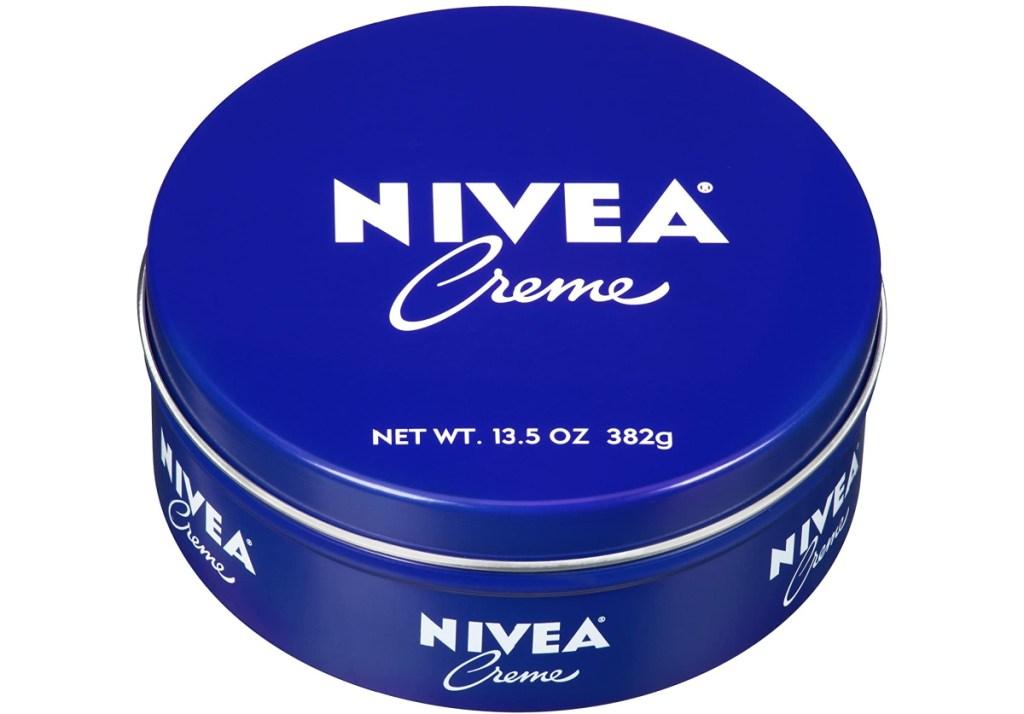 Nivea cream in a tin