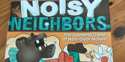 Mattel Noisy Neighbors Game Only $3.93 on Macys.com (Regularly $15) | Up to 75% Off Board Games