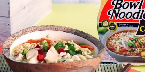 Nongshim Bowl Noodle Soup 12-Pack Only $9.99 on Amazon | Just 83¢ Per Soup