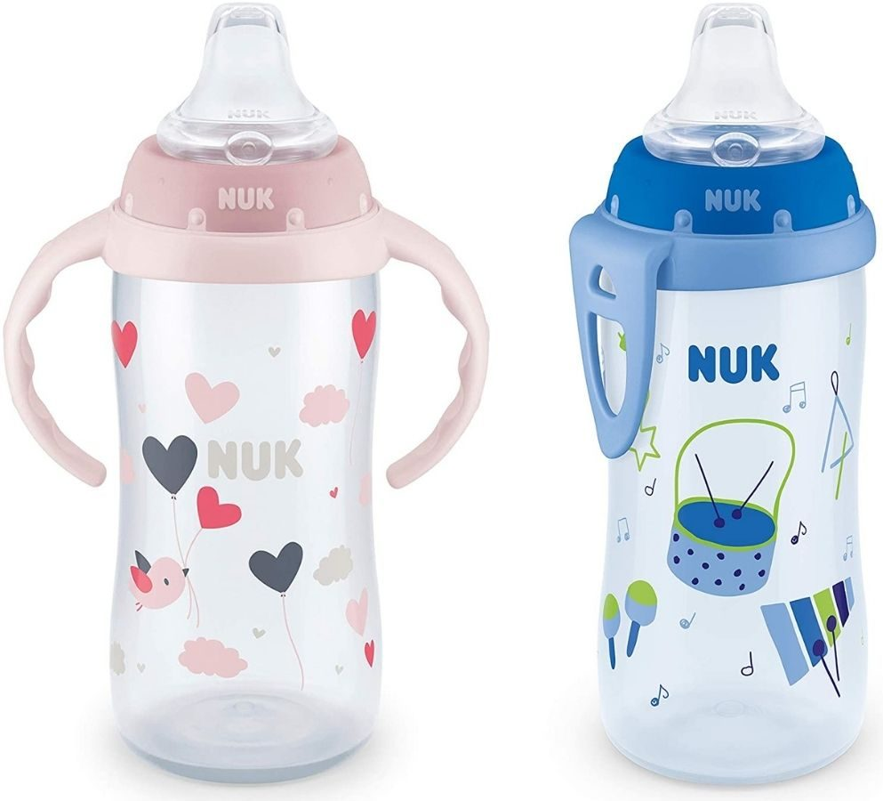 two Nuk 10oz Sippy Cups