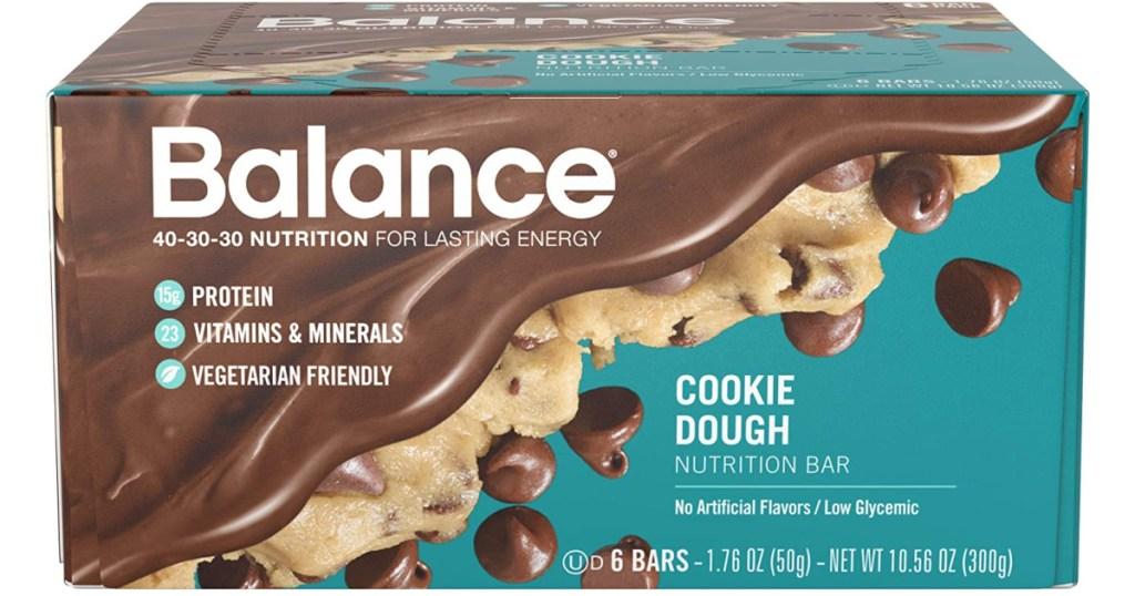 Balance Bar Cookie Dough Pack