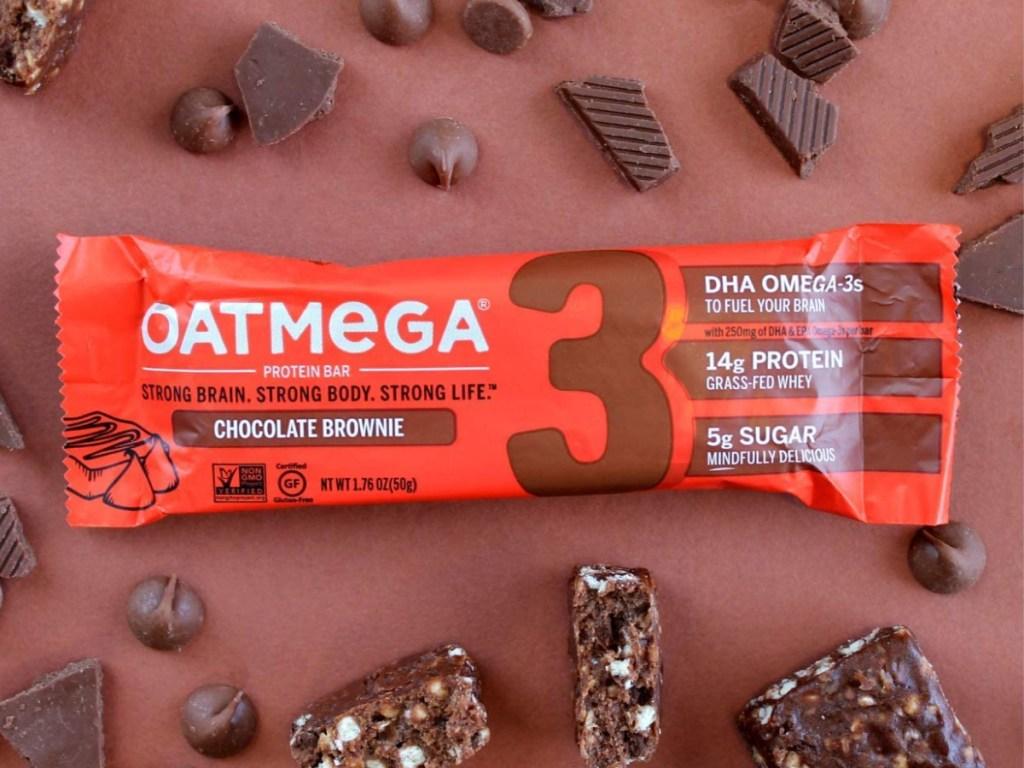 Oatmega Chocolate Protein Bars