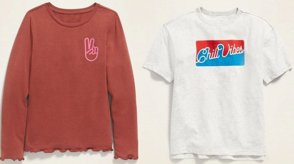 Two Old Navy Girls Tops
