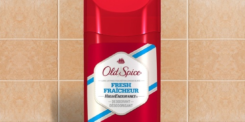 Old Spice Deodorant 3-Pack Only $4 Shipped on Amazon | Just $1.35 Each