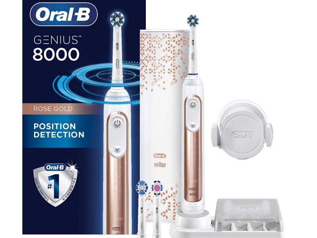 Oral B Genius 8000 toothbrush