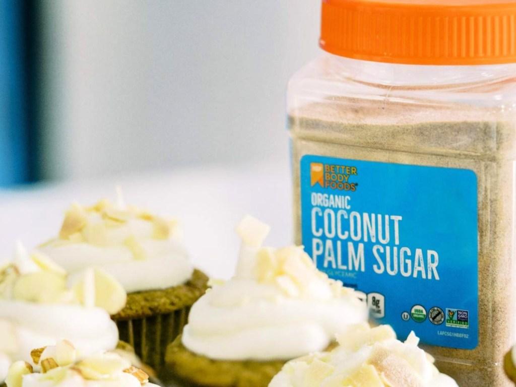Organic Coconut Palm Sugar 24-Ounce Jar