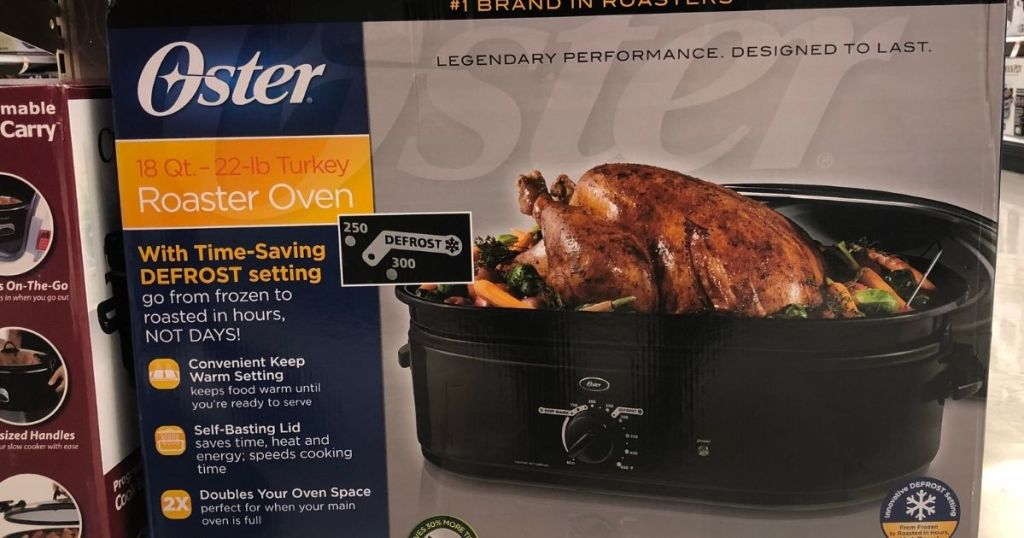 Oster Roaster Oven box
