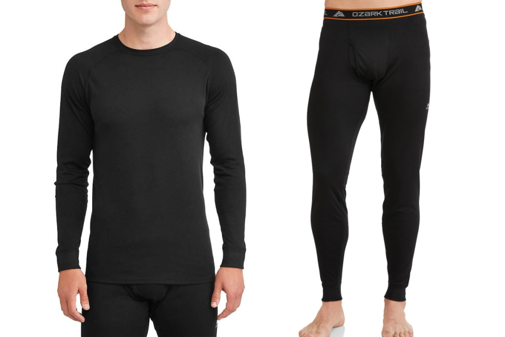 Ozark Trail Men's Thermal Baselayer Outfit