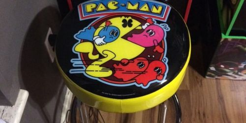 Arcade1Up Pac-Man Adjustable Stool Set Only $86.67 Shipped on Walmart.com (Regularly $150)