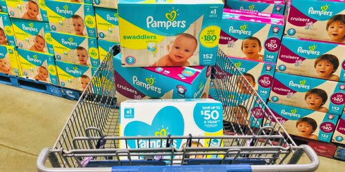 Sam's Club January Instant Savings | $10 Off Two Pampers Diapers or Wipes & $8 Off Two Huggies Diapers