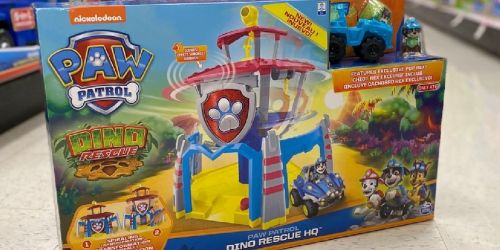 PAW Patrol Dino Rescue Headquarters Playset Only $23.74 on Target (Regularly $47) + 50% Off More Toys