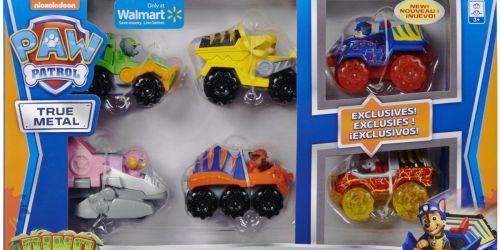 Paw Patrol Dino Rescue Vehicles 6-Piece Set $13.98 on Walmart.com (Regularly $25)