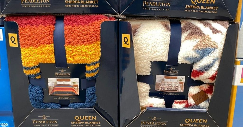 2 Pendleton Sherpa Blanket in store