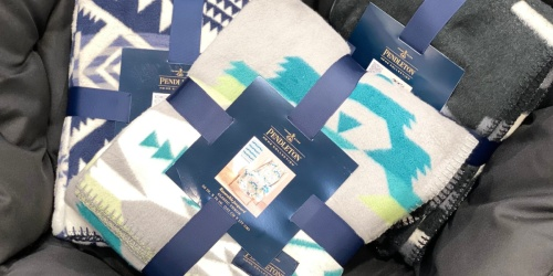 Pendleton Sherpa Fleece Throw Only $24.99 at Costco (New Styles Available in Club)