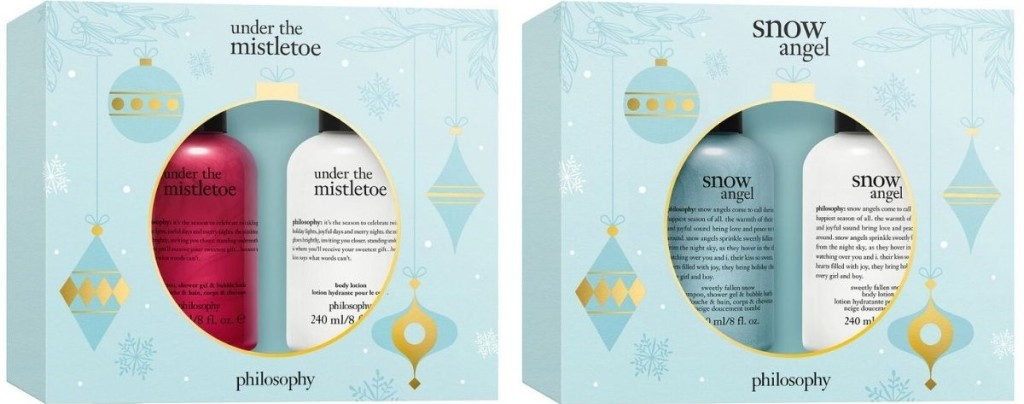 two Philosophy gift sets