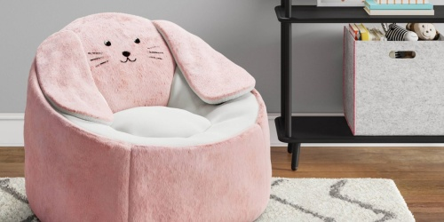 Pillowfort Kids Animal Bean Bag Chairs Only $35.99 Shipped on Target.com (Regularly $60) | Unicorn, Bunny, & More