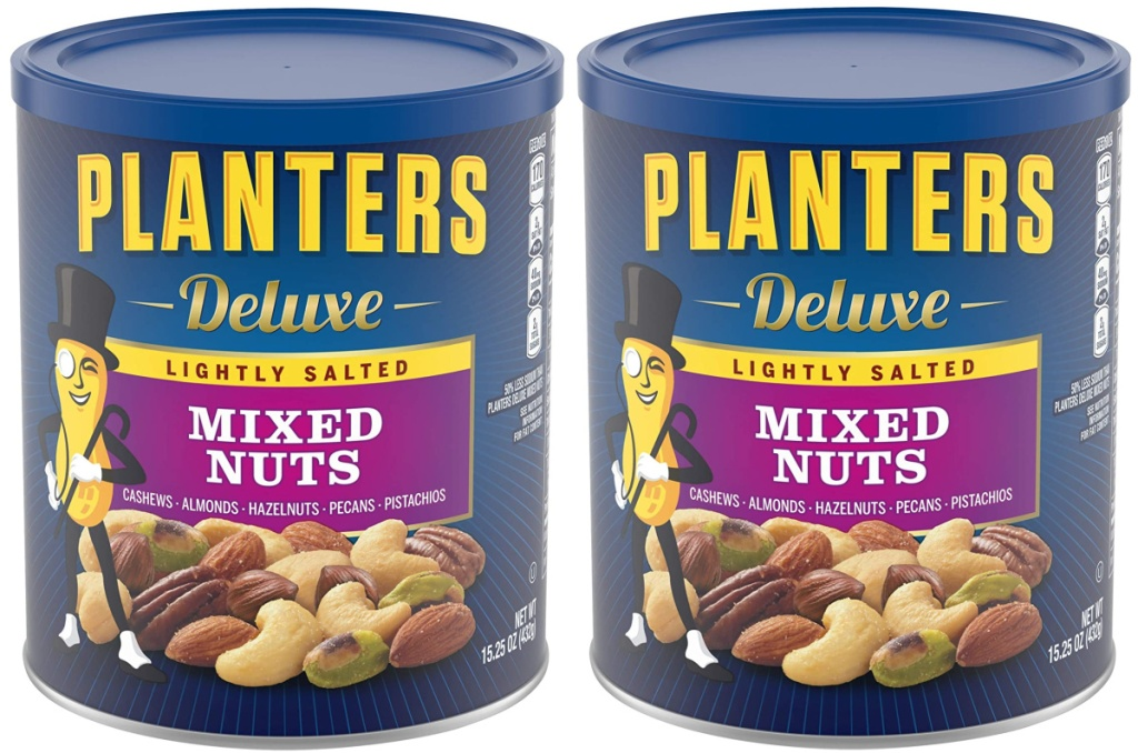 Planters 15.25oz Deluxe Lightly Salted Mixed Nuts
