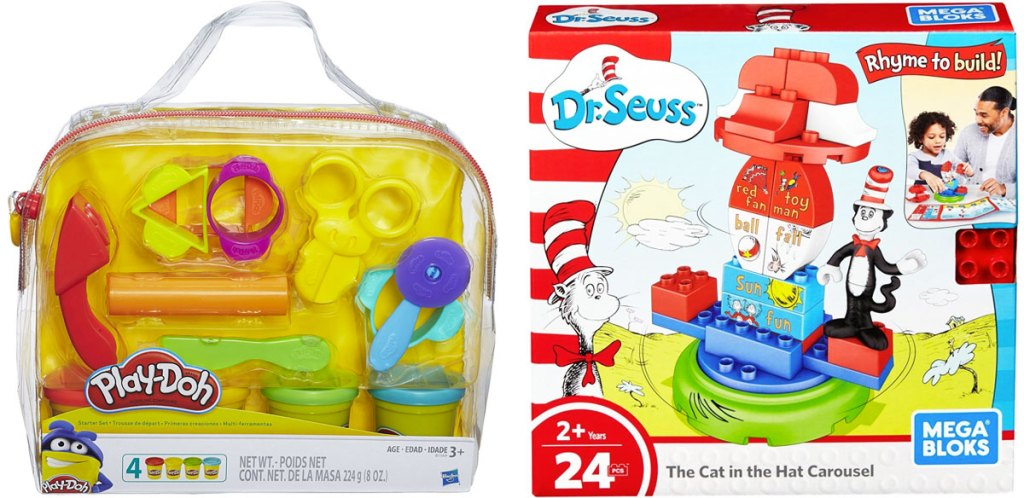 play-doh starter set and dr seuss game