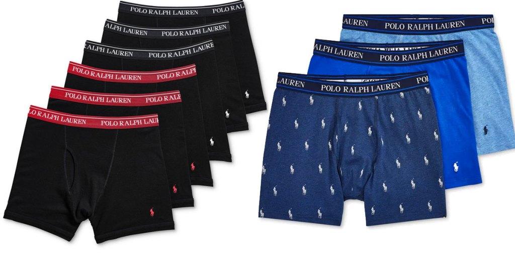 multipack sets of polo ralph lauren men's boxers