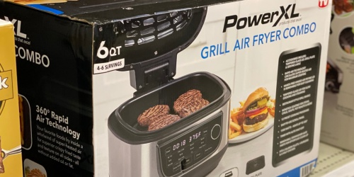 PowerXL Grill Air Fryer Combo Only $101.99 Shipped (Regularly $170) + Earn $20 Kohl's Cash