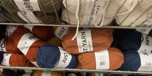 Premier Worsted Just Yarn Just $1 at Dollar Tree