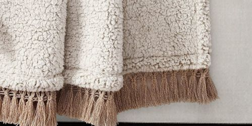 Throw Blankets Only $14.99 on Zulily.com | Sherpa, Reversible, & More