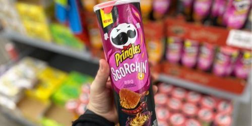 Pringles Scorchin' Chips Only 73¢ After Cash Back at Walmart