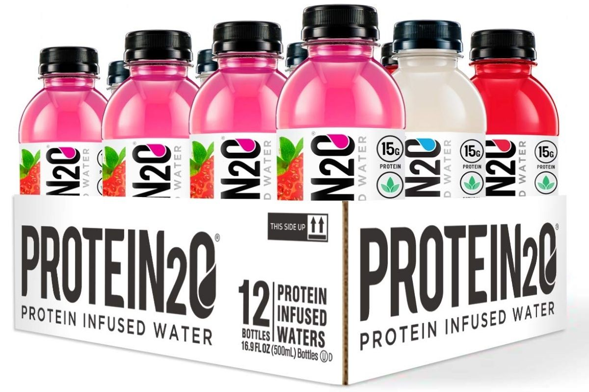 stock image of Protein2o Variety Pack in packaging