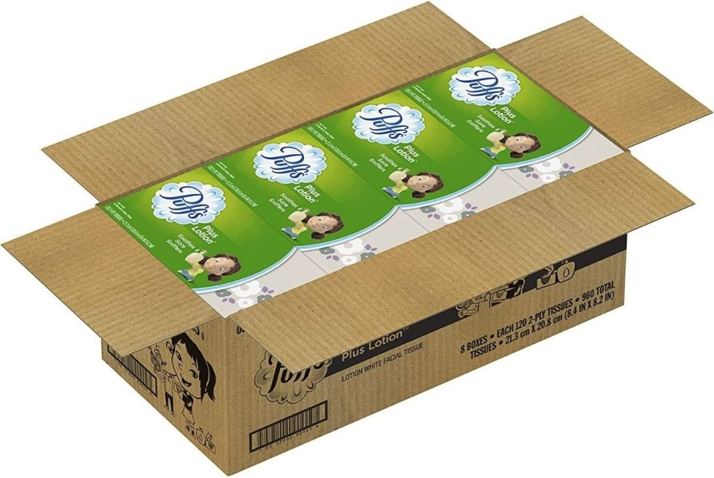 Puffs Plus Lotion 960-count Tissues