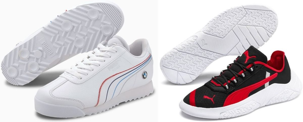 Two Pairs of Puma Boys Shoes