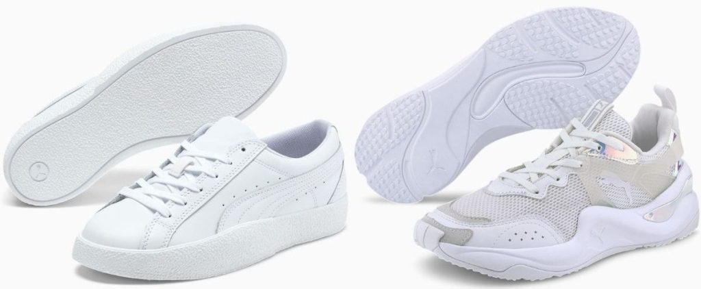 Two pairs of Puma womens sneakers
