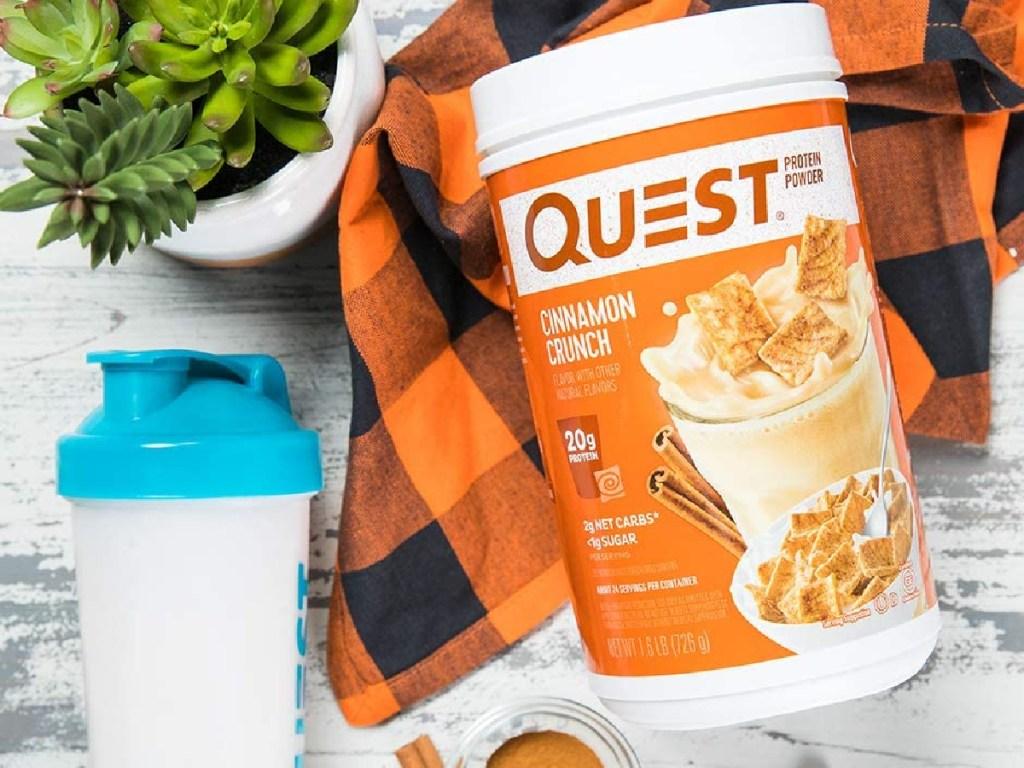 Quest Cinnamon Toast Nutrition Powder