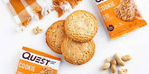 Quest Protein Cookies 12-Count Box Just $13.50 Shipped on Amazon