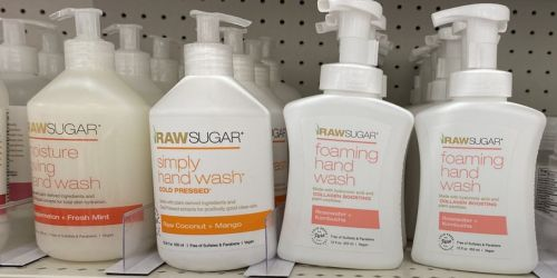 Raw Sugar Hand Wash Only $2 on Target.com w/ Free Store Pickup (Regularly $5) + 50% Off Beauty Items