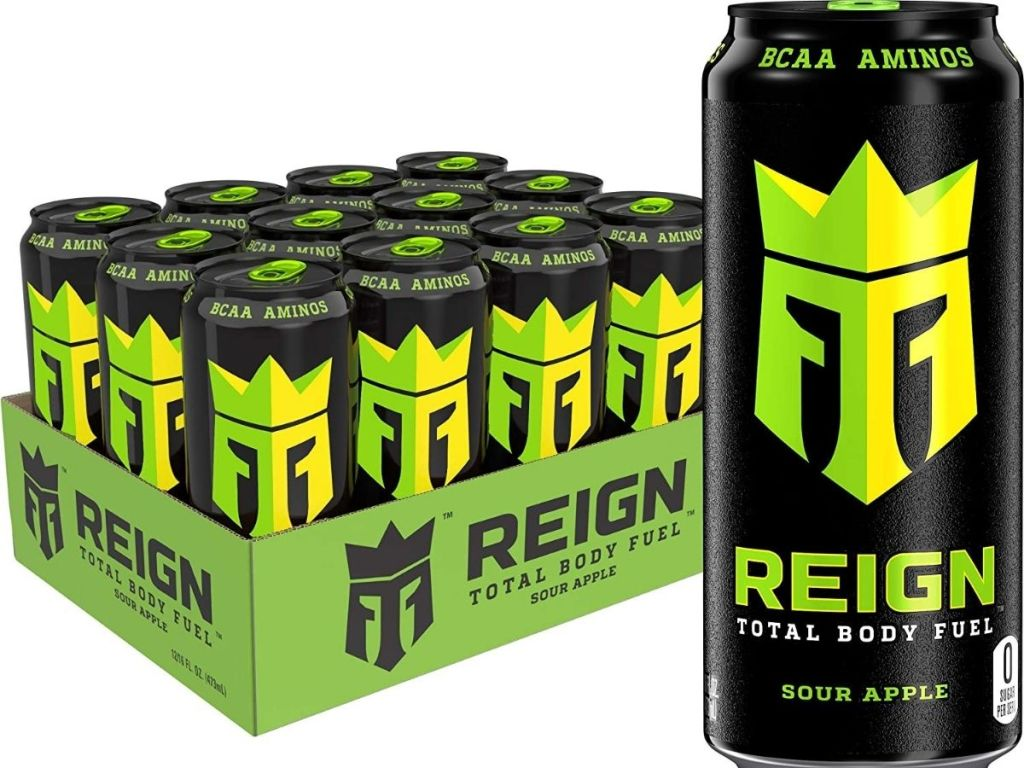 Reign Sour Apple 12-pack
