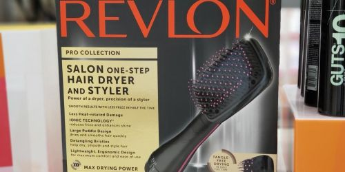 Revlon Hair Styling Tools From $7.38 on Amazon (Regularly $13+) | Curling Irons, Stylers, & More