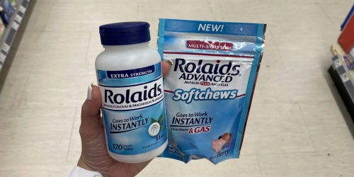 $2.50/1 Rolaids Coupon = 120-Count Tablets Only $1.49 at Walgreens (Regularly $6)