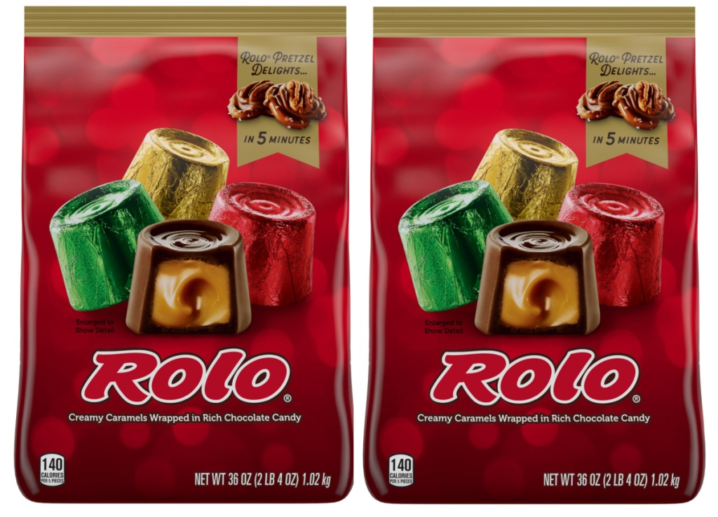 Rolo Creamy Caramels Wrapped in Rich Chocolate Candy 36-Ounce