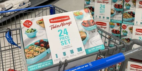 Rubbermaid TakeAlongs 24-Piece Set Possibly Only $1.50 at Walmart   In-Store Only