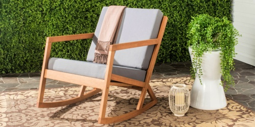 Indoor/Outdoor Modern Rocking Chair from $154 Shipped on Walmart.com (Regularly $220)