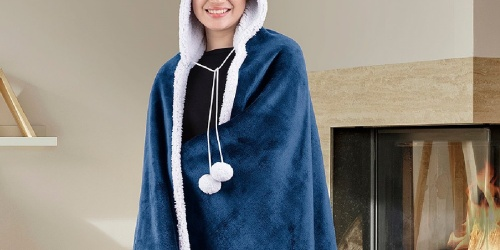 Hooded Sherpa Throws from $12.99 on Zulily.com (Regularly $30+)