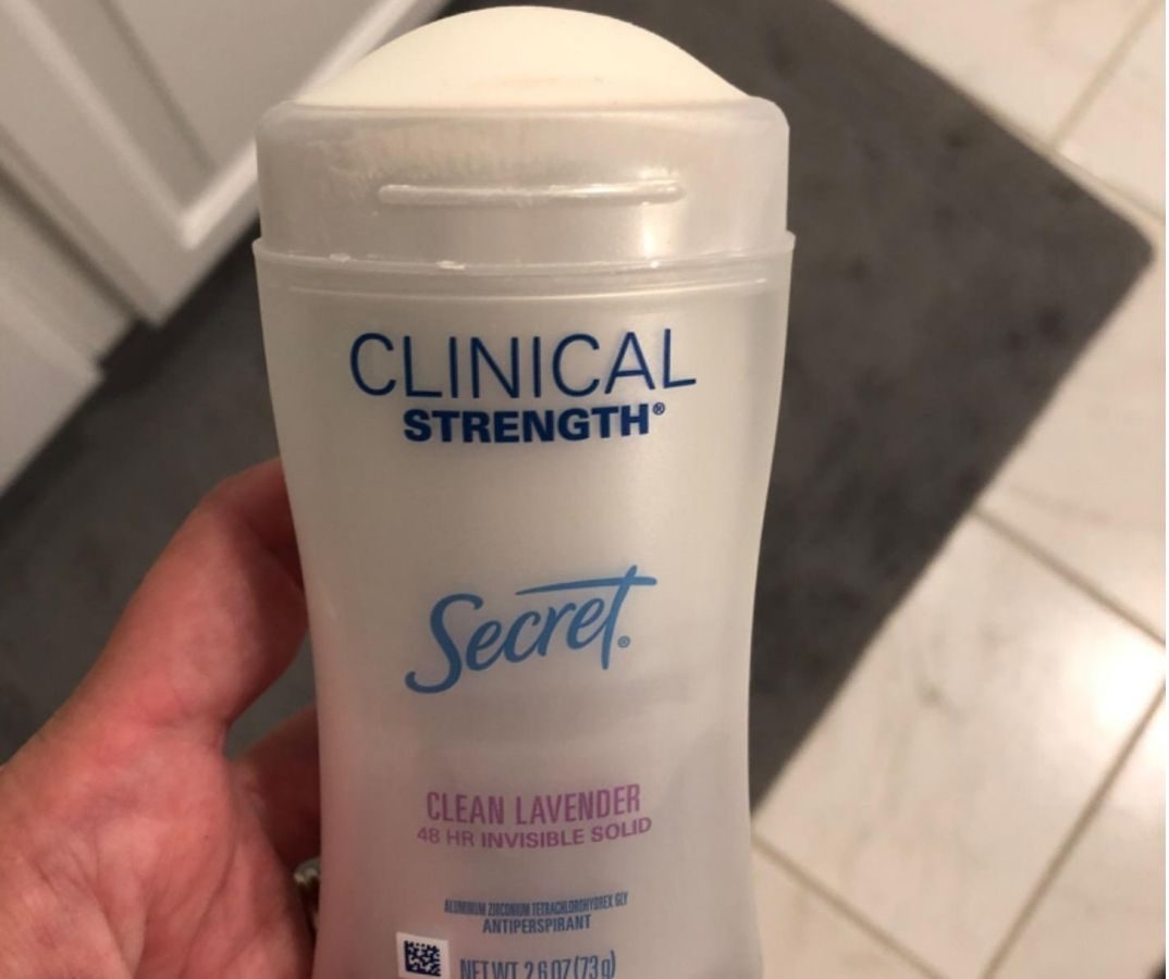 Secret Outlast Clear Lavender Soft Solid Deodorant