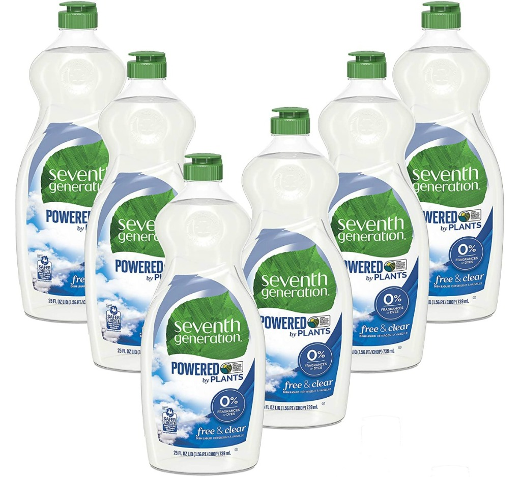 Seventh Generation Dish Liquid Soap 6-count