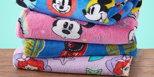 FREE Shipping on ANY ShopDisney Order | Fleece Blankets Just $6.98 Shipped + More