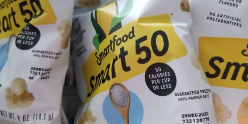 Smartfood Popcorn Snack Bags 36-Count Only $9.99 Shipped on Amazon | Just 28¢ Each