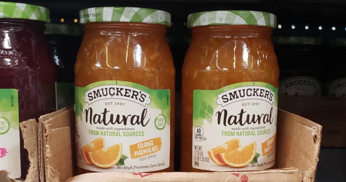 Smucker's Natural Fruit Spread Orange Marmalade