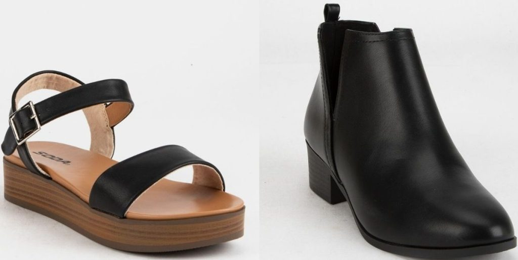 Two women's shoes