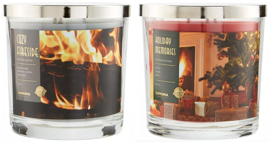 Sonoma 3 Wick Candles at Kohl's