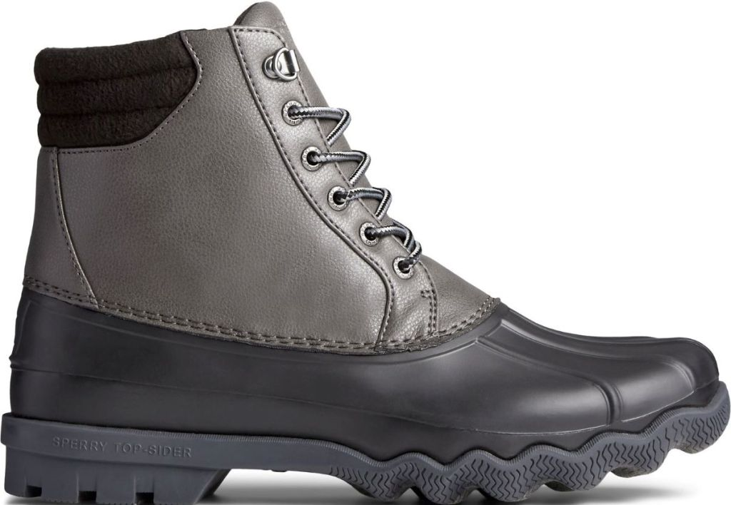 Sperry Mens grey and black Boot